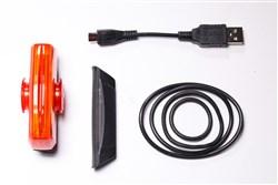 Cateye Rapid X3 150 Lumen USB Rechargeable Rear Light