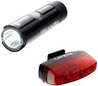 Cateye Volt 100 XC / Rapid Micro Light Set