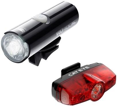 Cateye Volt 400 XC / Rapid Mini Light Set | Lygtesæt