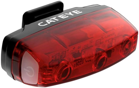 Cateye Rapid Micro USB Rechargeable Rear Light | Baglygter