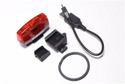 Cateye Rapid Micro USB Rechargeable Rear Bike Light - 15 Lumen