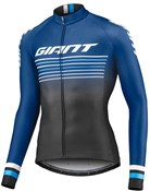 Giant Race Day Full Zip Cycling Long Sleeve Jersey