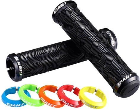 Giant Tactal Double Lock-On Mountain Bike Grips