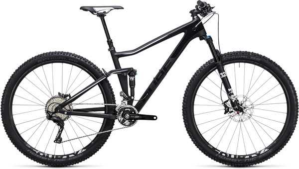 Cube Stereo 120 Hpc Race 29er Mountain Bike 2017 - Trail Full Suspension MTB
