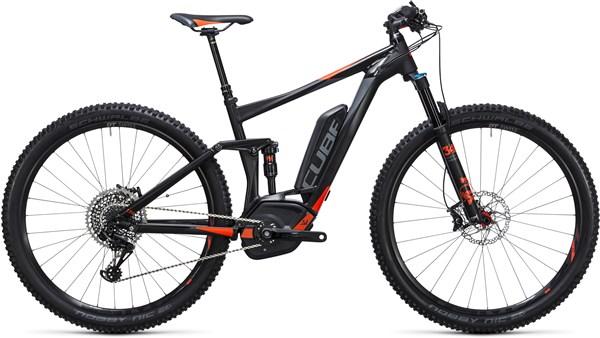 Cube Stereo Hybrid 120 HPA SL 500 29er 2017 - Electric Mountain Bike