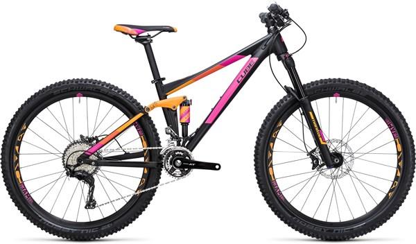 Cube Sting WLS 120 Pro 29er Womens Mountain Bike 2017 - Trail Full Suspension MTB