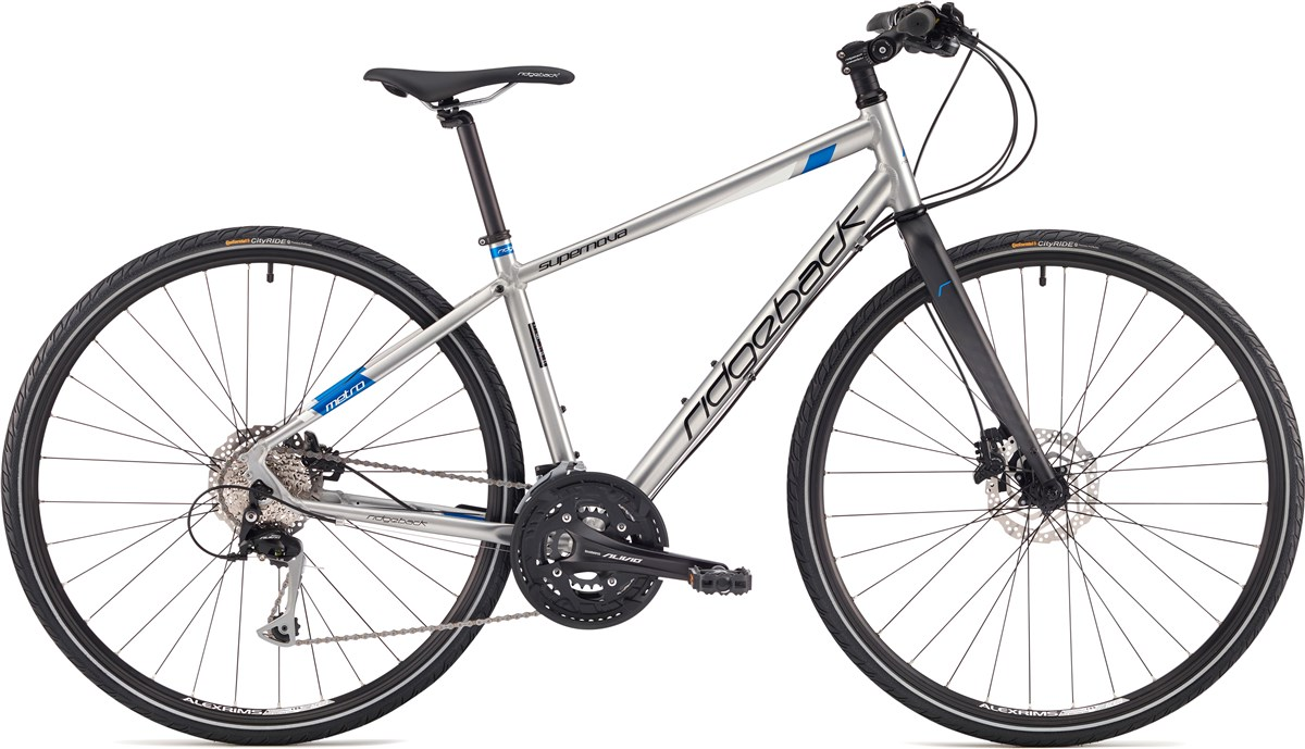 Ridgeback Supernova 2017 - Hybrid Sports Bike   City