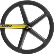 Product image for Mavic IO Carbon Track Tubular Front Wheels 2018