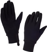 Sealskinz Womens Stretch Fleece Nano Long Finger Gloves