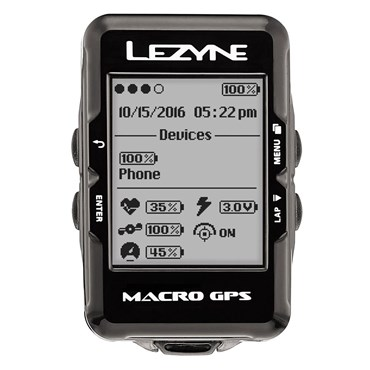 Lezyne Macro GPS Navigate Computer