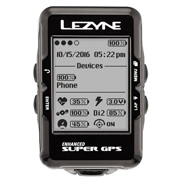 Lezyne Super Navigate GPS Computer With Mapping | Cycle computers