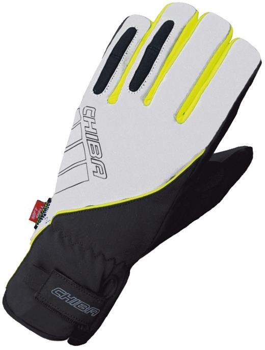 Chiba Reflex Pro Waterproof Long Finger Cycling Gloves AW16   Gloves