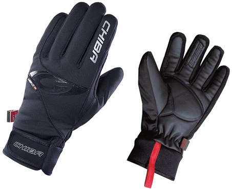 Chiba Classic Windstopper Long Finger Cycling Gloves AW16
