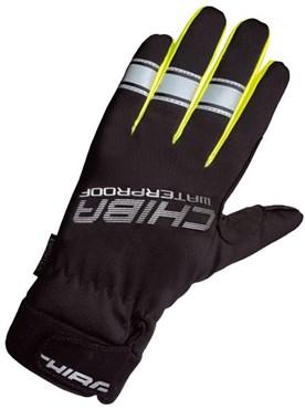 Chiba Kids EuroTex Waterproof Long Finger Cycling Gloves AW16