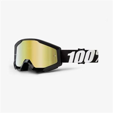 ba79c2b79404 100% Strata Anti-Fog Mirrored Lens MTB Goggles