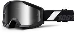 100% Strata Anti-Fog Mirrored Lens MTB Goggles