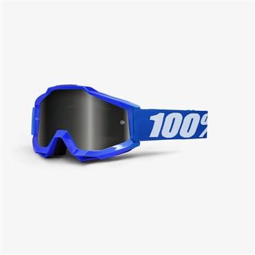 100% Accuri Sand Grey Smoke Lens MTB Goggles | Beskyttelse