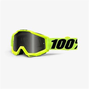 100% Accuri Sand Grey Smoke Lens MTB Goggles