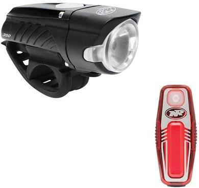 NiteRider Swift 350/Sabre 50 Combo USB Rechargeable Light Set