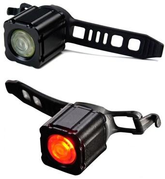 Xeccon Geinea III Front and Rear Light Set | Lygtesæt