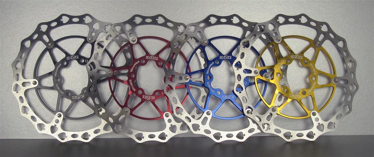 A2Z 2 Piece Disc Rotor | Brake pads