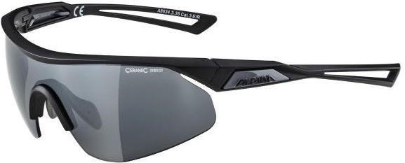 Alpina Nylos Shield Ceramic Mirror Cycling Glasses
