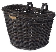 Basil Darcy Rattan Front Bike Basket