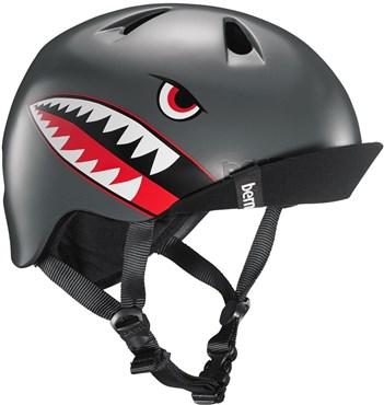 Bern Nino Boys Helmet with Flip Visor | Hjelme
