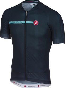 Castelli Aero Race 5.1 FZ Short Sleeve Jersey | Trøjer