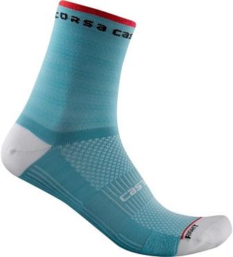 Castelli Castelli Rosso Corsa Womens 11 Socks