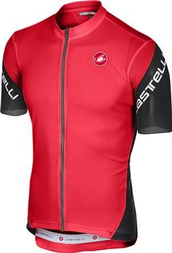 Castelli Entrata 3 FZ Short Sleeve Jersey | Jerseys
