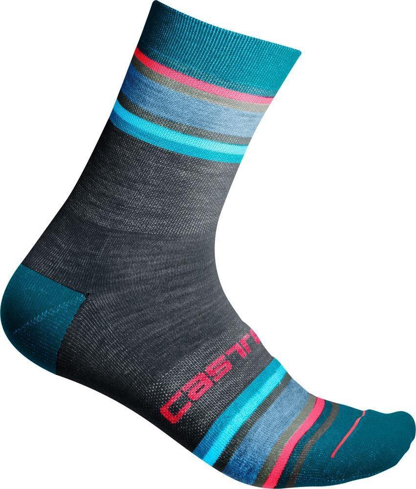 Castelli Women's Striscia 13 Cycling Socks | Strømper