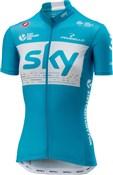 Castelli Team Sky Fan 18 Womens Short Sleeve Jersey