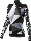 Castelli Triangolo Mid Womens Long Sleeve Full Zip Jersey