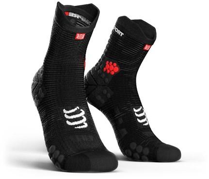 Compressport ProRacing Socks V3.0 Run Hi | Strømper