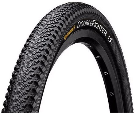 """Continental Double Fighter III 20"""" Tyre"""