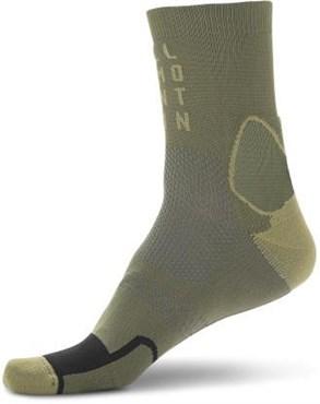 Cube Mountain High Cut Socks