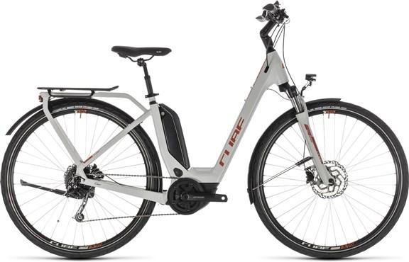 Cube Touring Hybrid 500 Easy Entry 2019 - Electric Hybrid Bike   City