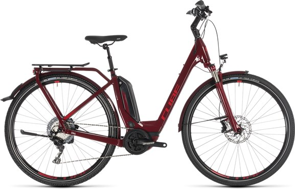 Cube Touring Hybrid EXC 500 Easy Entry 2019 - Electric Hybrid Bike | City-cykler