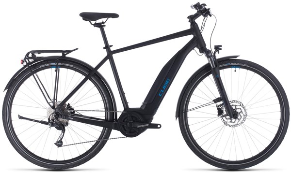 Cube Touring Hybrid One 500 2020 - Electric Hybrid Bike | City-cykler