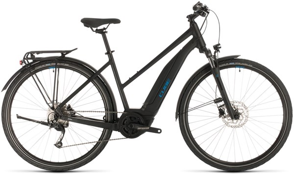 Cube Touring Hybrid One 500 Trapeze Womens 2020 - Electric Hybrid Bike | City-cykler