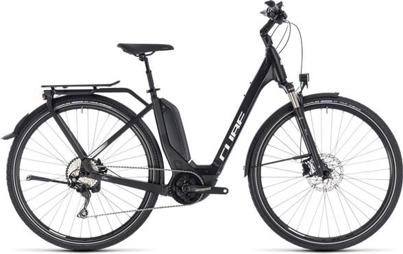 Cube Touring Hybrid Pro 500 Easy Entry 2019 - Electric Hybrid Bike | City-cykler