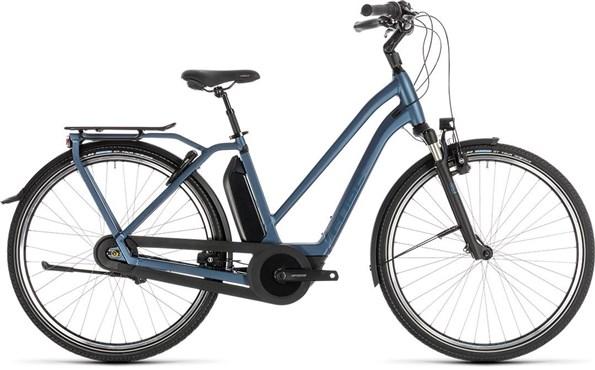 Cube Town Hybrid EXC 400 Womens 2019 - Electric Hybrid Bike   City