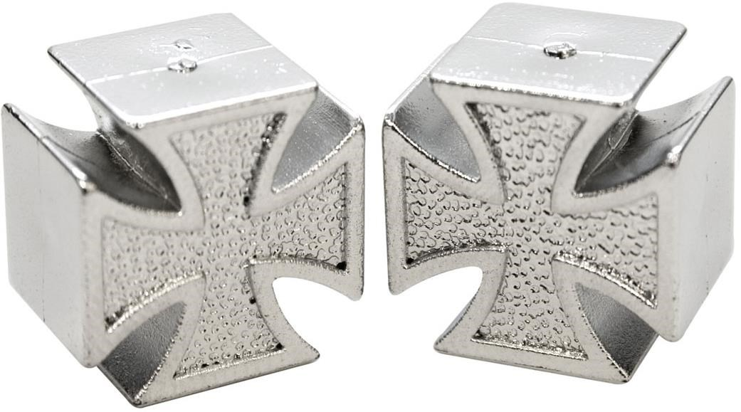 ETC Iron Cross Valve Caps Schrader | Valve Caps