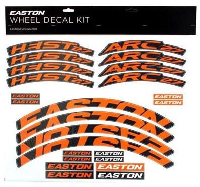Easton Arc/Heist Wheel Decal Kit