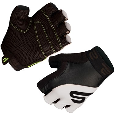 Endura Equipe Padded Mitt Short Finger Cycling Gloves