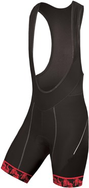 Endura Graphic Womens Cycling Bibshorts SS17