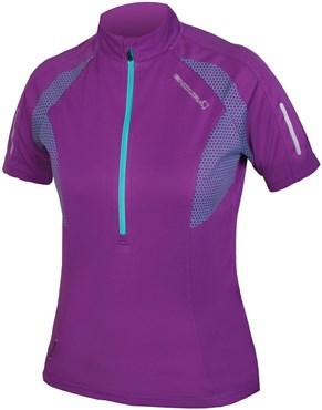 Endura Womens Xtract Short Sleeve Cycling Jersey AW17