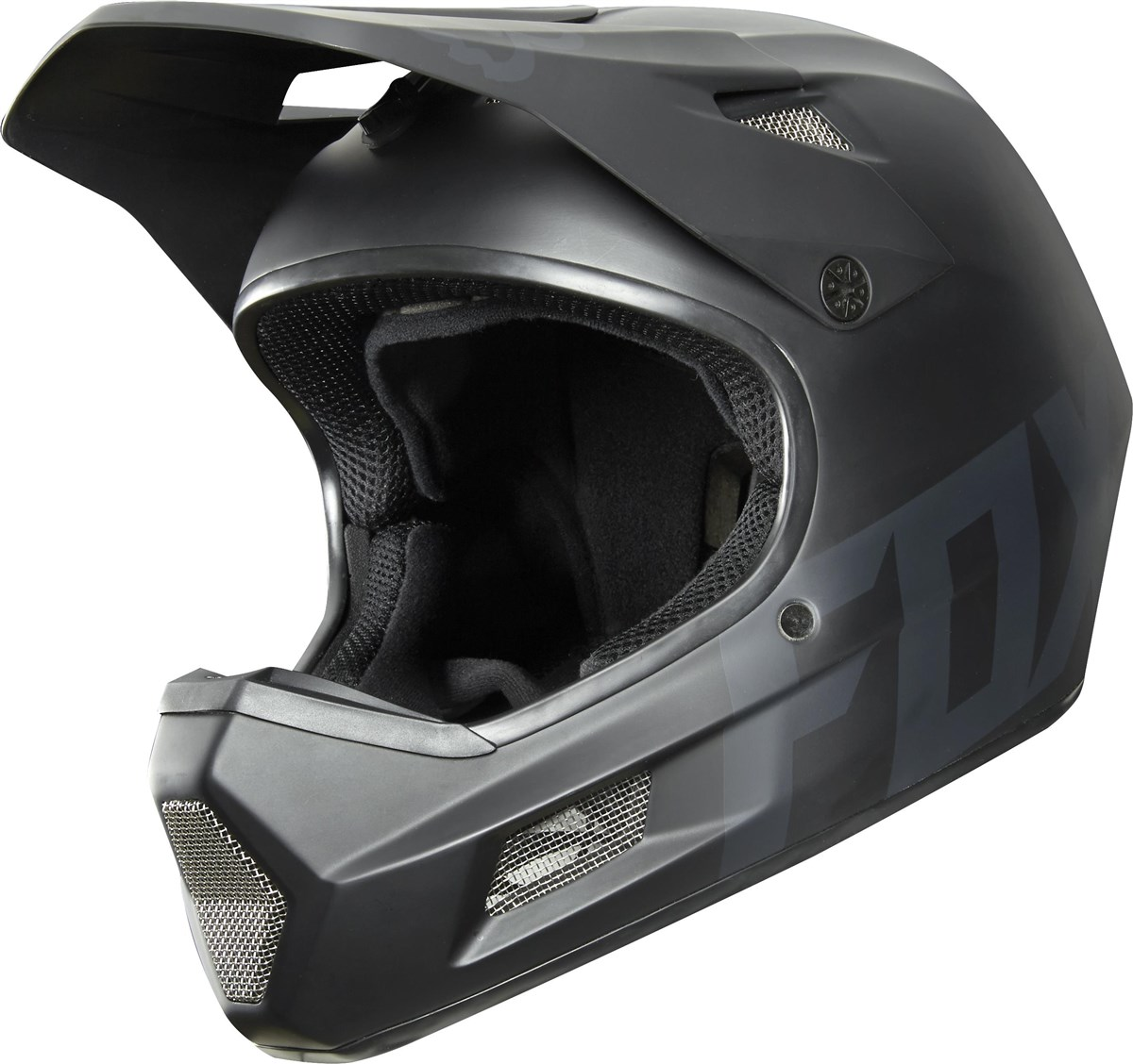 Fox Clothing Rampage Comp Black Full Face MTB Helmet | Helmets