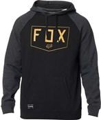 Fox Clothing Shield Raglan Pullover Fleece Hoodie